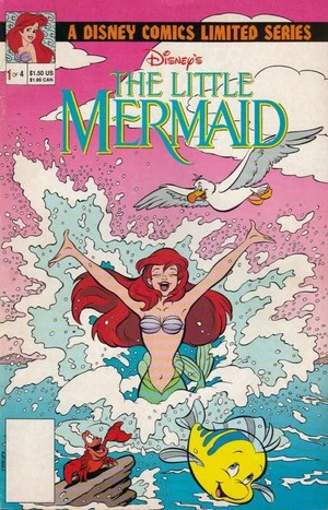 TheLittleMermaid Issue 1 The Serpent-Teen Part 1 Cover