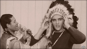 Elvis Presley's induction into the Los Angeles Indian Tribal Council