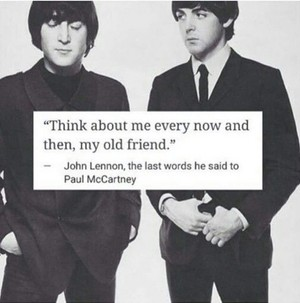 John's last message to Paul