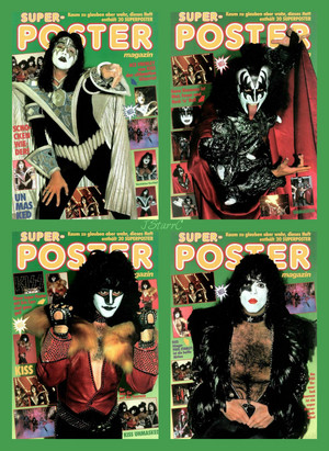 KISS ~Super Poster Magazine 1980