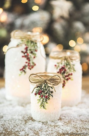 Snow jar DIY
