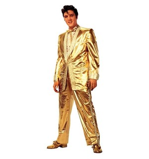 The Iconic Gold Suit