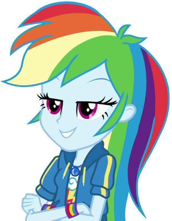 Rainbow Dash - My Little Pony: Equestria Girls The Digital Series Fan Art  (41880738) - Fanpop - Page 6