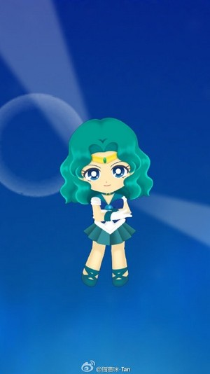 Sailor Moon Drops - Michiru Kaiou
