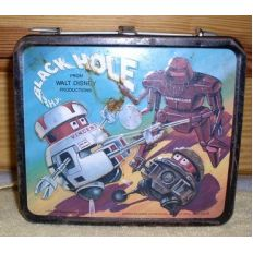 Vintage Black Hole Lunchbox