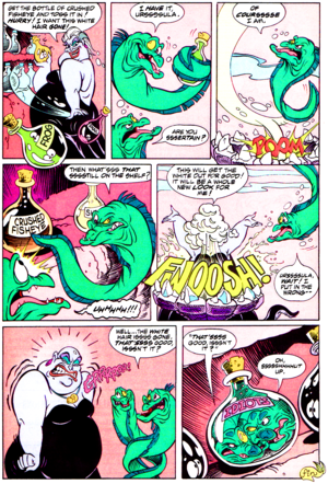 Walt Disney Comics - The Little Mermaid: Ursula in Hair Today