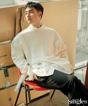 D.O. for Singles magazine on Feb 2019