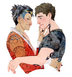 Alec/Magnus Fanart - I Can't Help But amor You