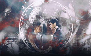 Alec/Magnus Wallpaper - Immortal