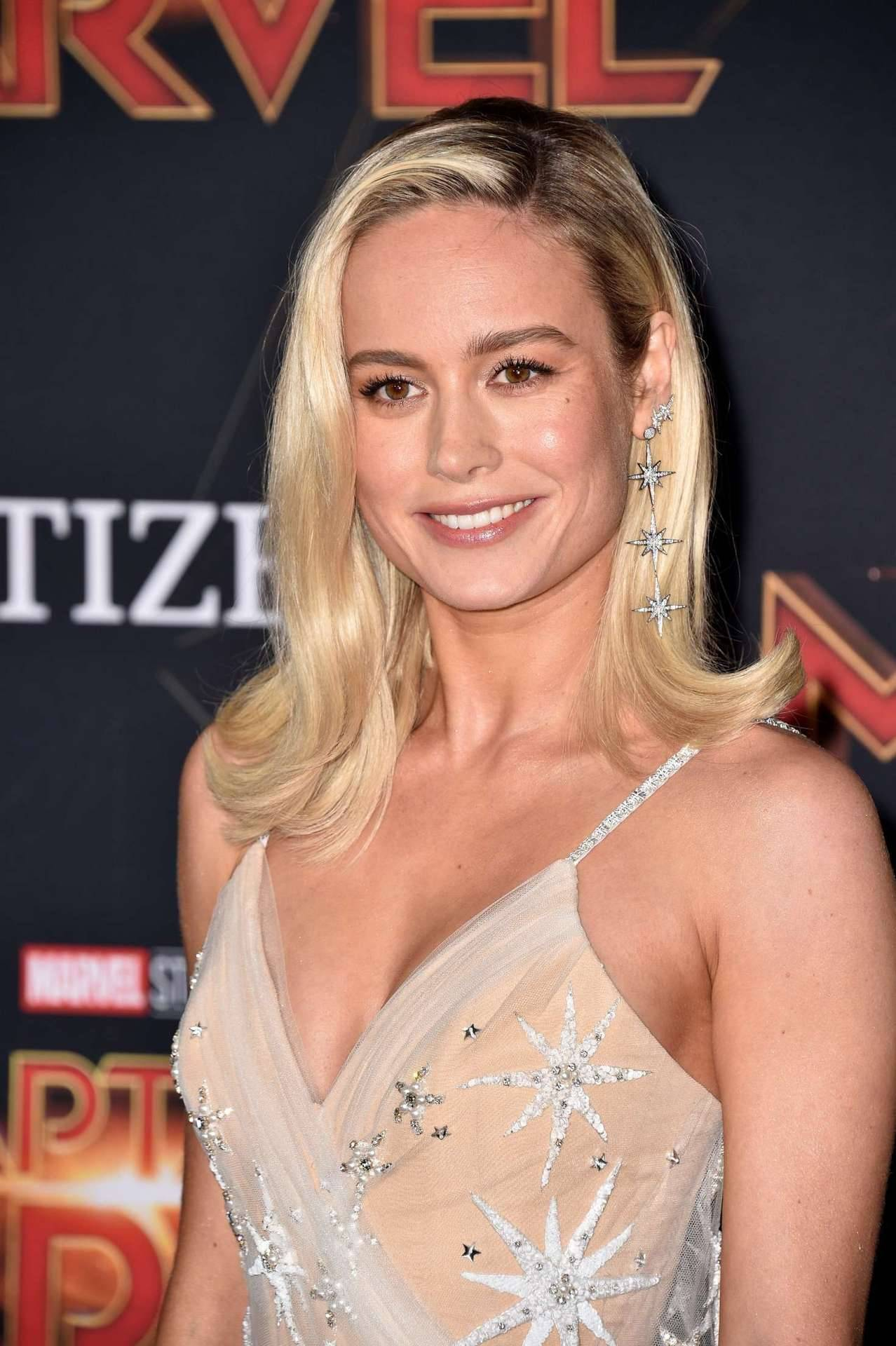 Brie Larson Captain Marvel World Premiere March 4, 2019