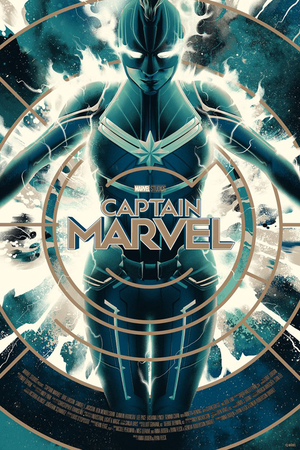 Captain Marvel Posters by Matt Taylor