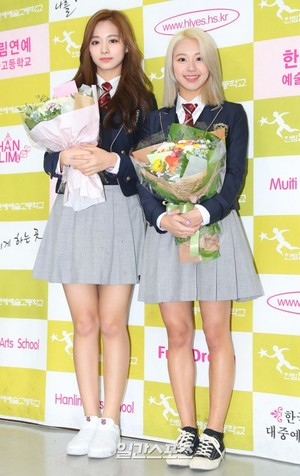 Chaeyoung and Tzuyu Graduation