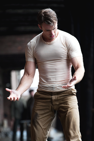 Chris Evans in Captain America: The First Avenger (2011)