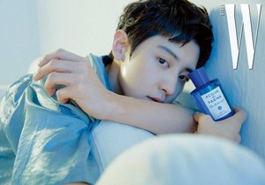 EXO's Chanyeol  for 'W Korea'