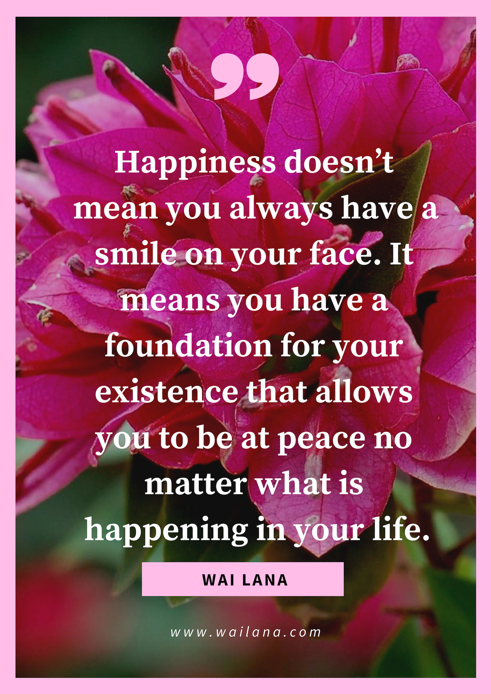 Happiness is matters