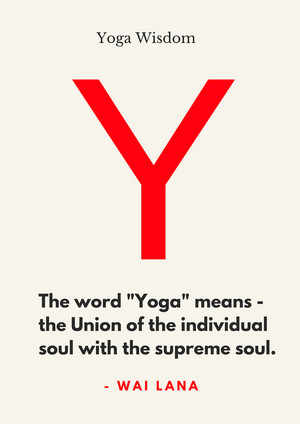 Meaning of the word Yoga