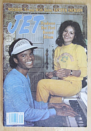 Michael And LaToya On The Cover Of Jet