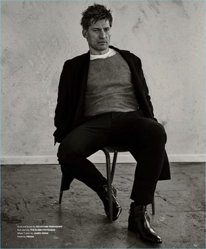 Nikolaj Coster-Waldau - Essential Homme Photoshoot - 2017