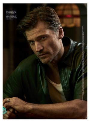 Nikolaj Coster-Waldau - Icon El Pais Photoshoot - 2019