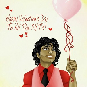 P.Y.T. Valentine Message From Michael