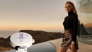 Sophie Turner ~ Louis Vuitton Tambour Horizon Campaign ~ February 2019