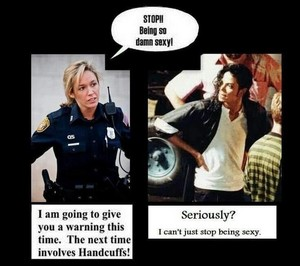 Sorry, officer. But Michael Jackson cannot help being who he is