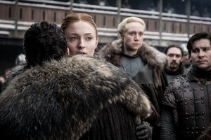 8x01 ~ Winterfell ~ Sansa and Aegon