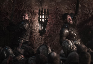 8x03 - The Long Night - Brienne and Jaime