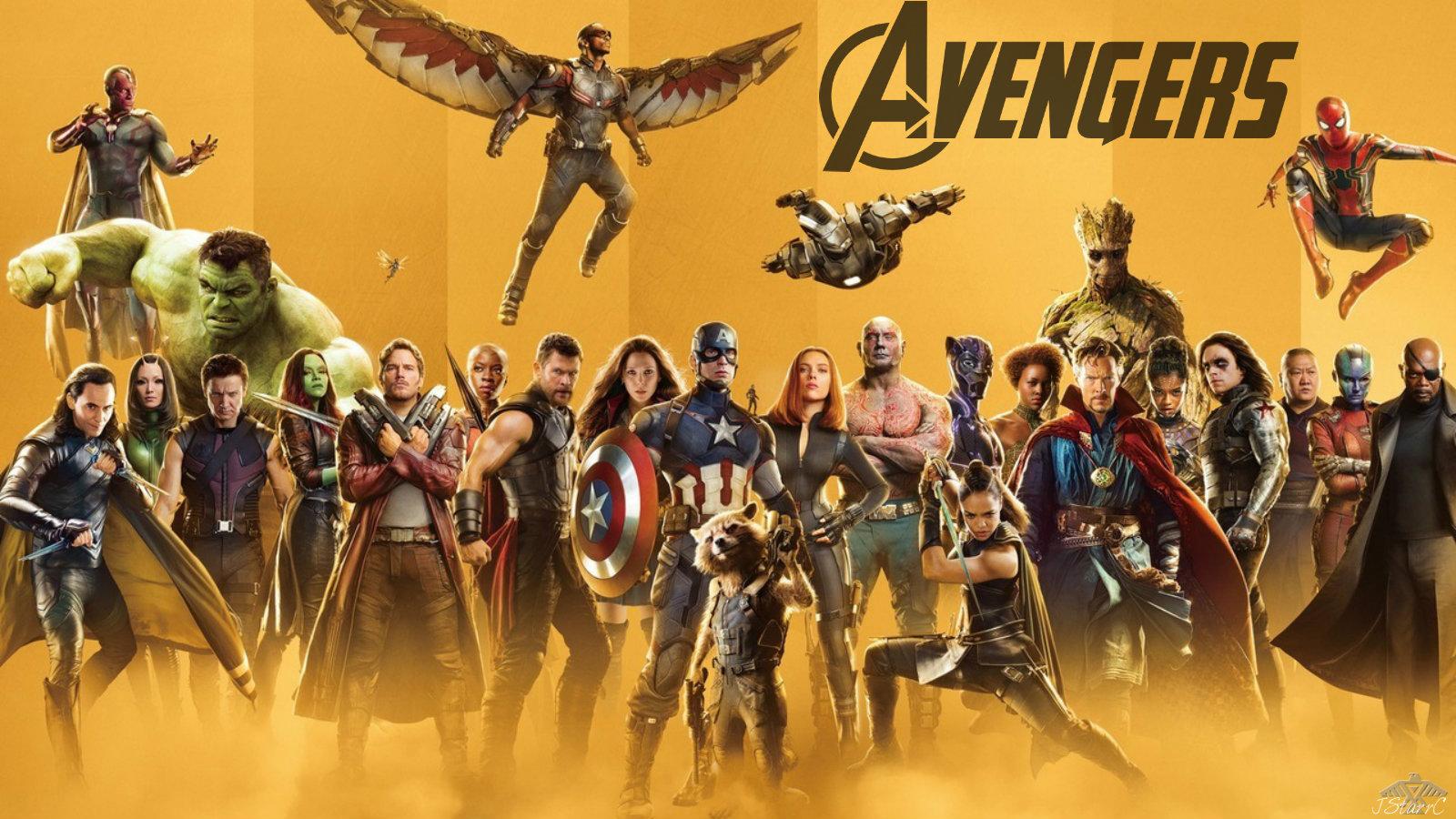 Avengers Endgame 2019 Avengers Infinity War 1 2 Wallpaper
