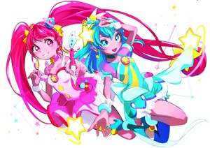 Cure stella, star and Cure Milky