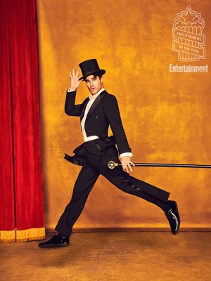 Darren Criss in a Top Hat