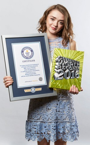 Guinness Book of Records ~ August 2015