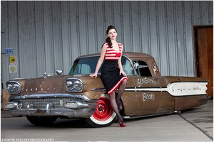 Hot-Rod Pin Up