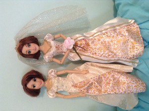 Wedding Rapunzel Doll Comparison