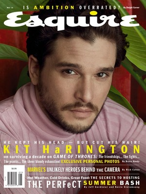 Kit Harington - Esquire Cover - 2019