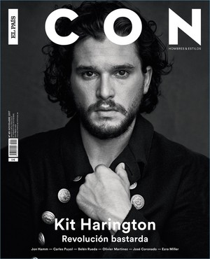 Kit Harington - icone El Pais Cover - 2019