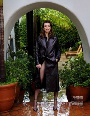 Milla Jovovich for InStyle Russia [April 2019]