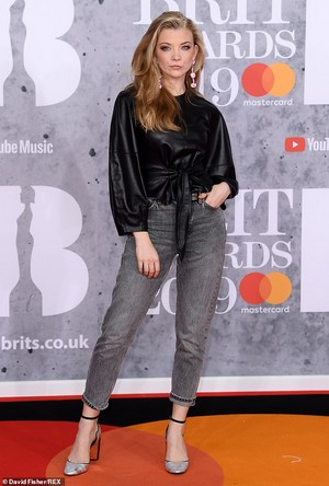 Natalie at the BRiTs 2019