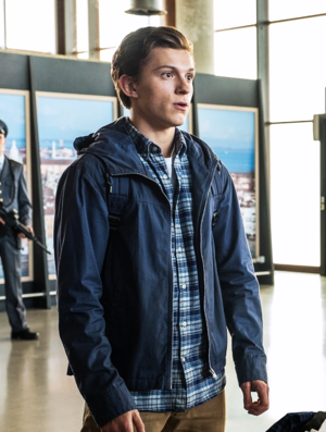 New still of Tom Holland as Peter Parker in Spider Man: Far From Home (2019)