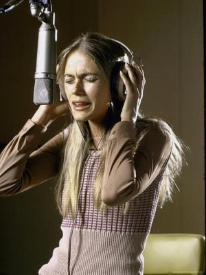 Peggy Lipton In The Recording Studio