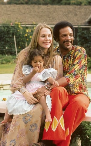 Peggy Lipton  With Her Family