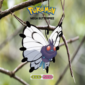 Pokemon (8 Generation) Mega Butterfree
