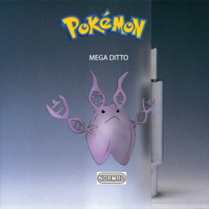 Pokemon (8 Generation) Mega Ditto