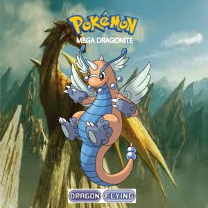 Pokemon (8 Generation) Mega Dragonite