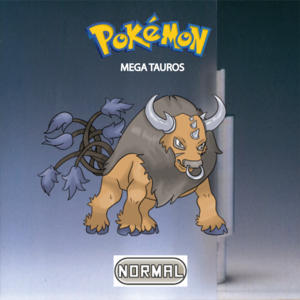 Pokemon (8 Generation) Mega Tauros
