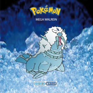 Pokemon (8 Generation) Mega Walrein