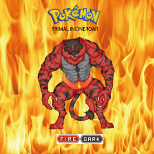 Pokemon (8 Generation) Primal Incineroar
