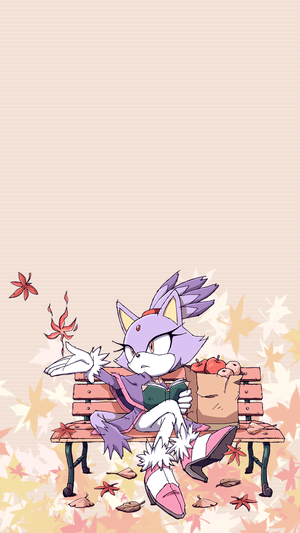 Pretty Blaze the cat wallpaper