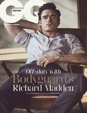 Richard Madden - British GQ Cover - 2019