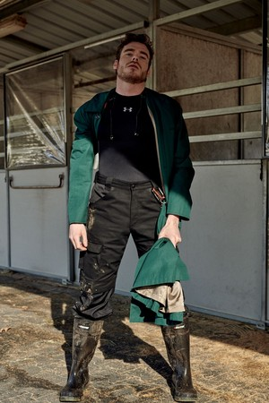 Richard Madden - Interview Magazine Photoshoot - 2019